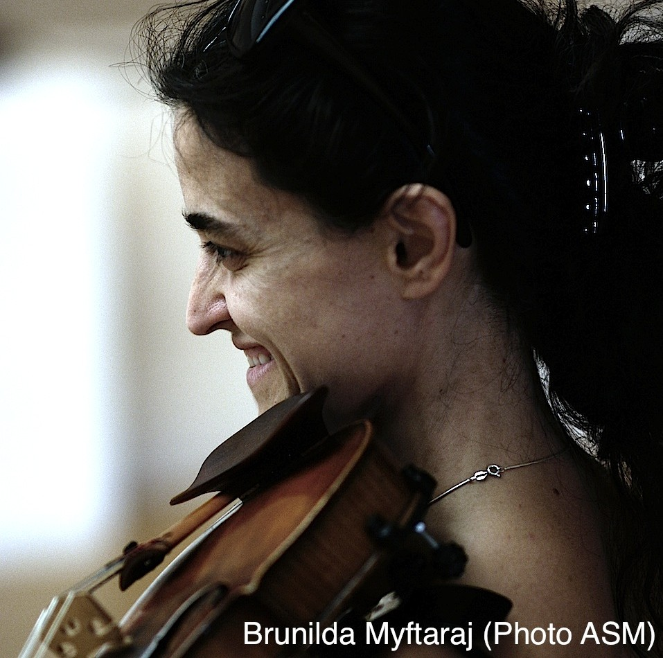 January 12 Brunilda Myftaraj in Violin Solo recital