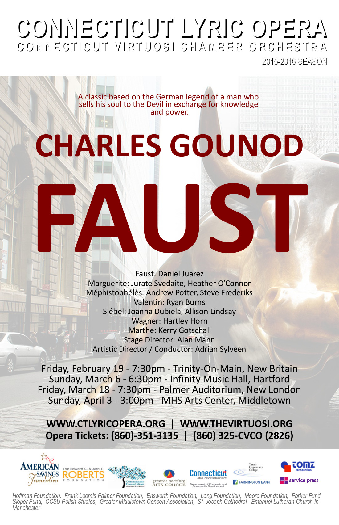 "Faustian Legend Gets Modern Twist in CT Lyric Opera's Production of ""Faust"""