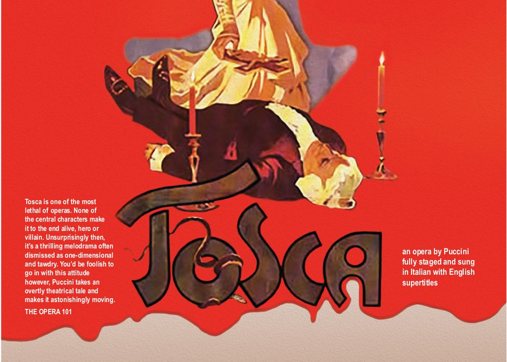TOSCA – May 12, 14, 20, 26