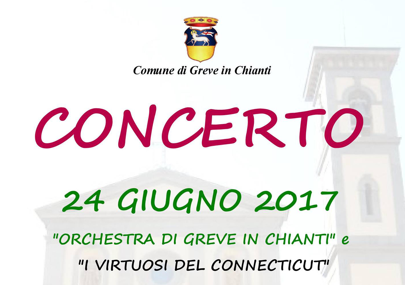 CHAMBER ORCHESTRA OF GREVE IN CHIANTI & CONNECTICUT VIRTUOSI