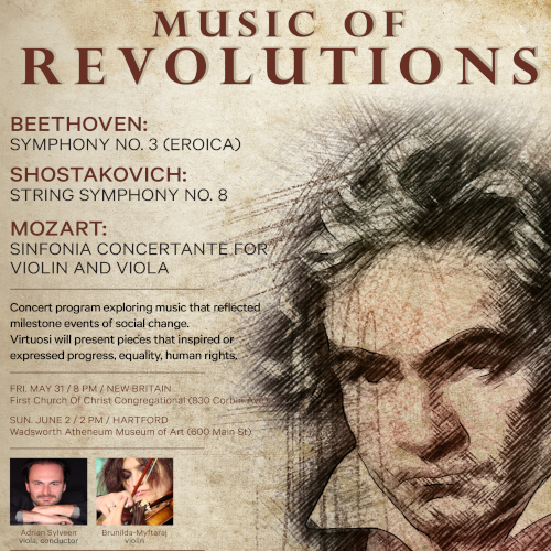 May 31, June 2 <br> Music of Revolutions